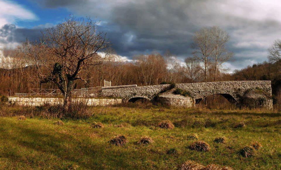 Ponte Romano in Contrada Cropana ad Auletta